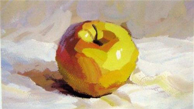 水粉静物中水果如何调色呢?你知道吗?