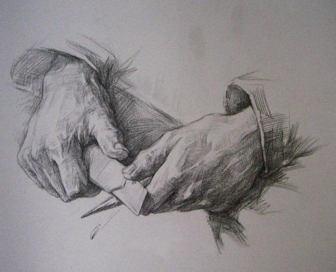 手的结构比例和画法解析