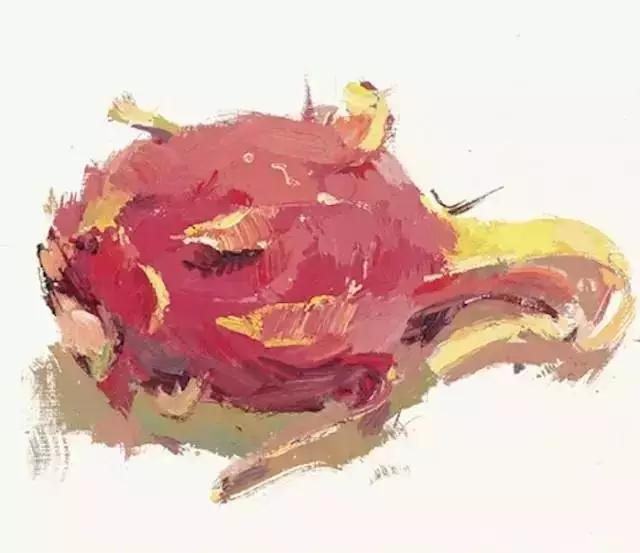 美术校考水粉静物单个蔬菜 水果画法汇总