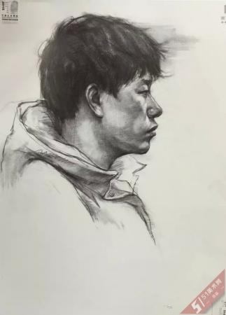 中国美术学院2015年【素描】高分试卷一