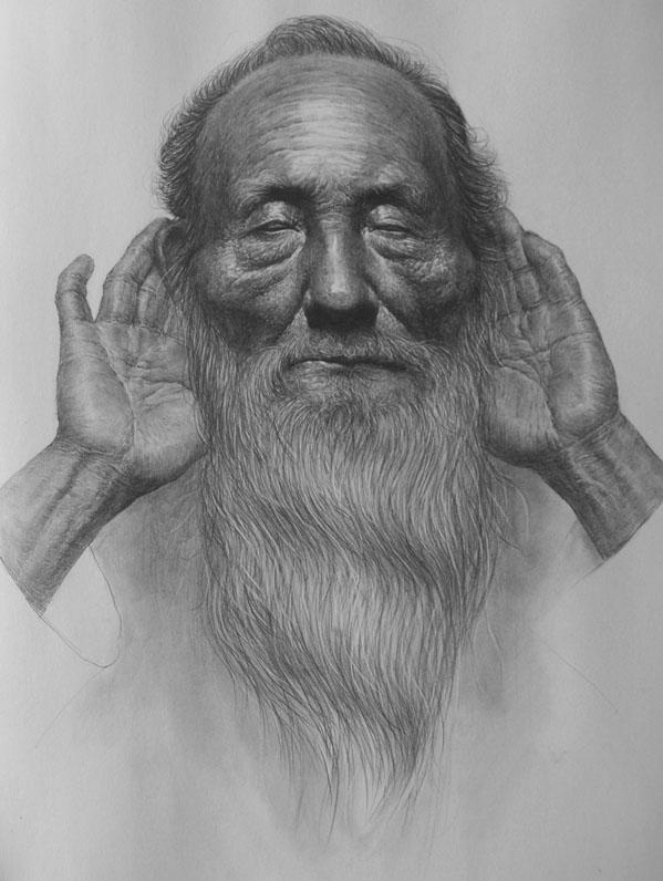 【联考秘诀】素描头像中人物神态的表达