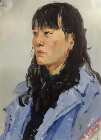 中国美术学院2016年色彩头像高分试卷(二)
