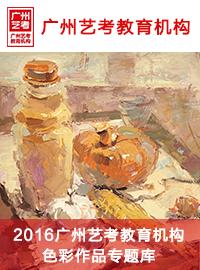 广州艺考教育色彩作品专题库