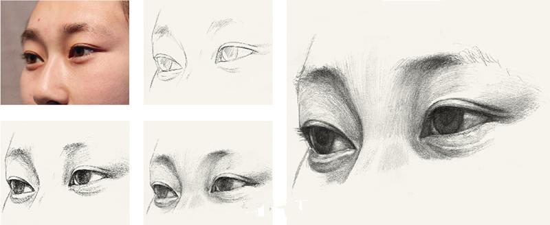 【眼部】素描头像五官及细节训练之眼睛