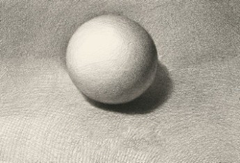 【球体】石膏几何形体之球体的画法