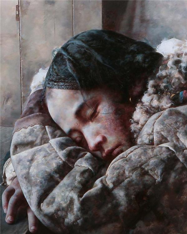 艾轩作品之油画作品欣赏