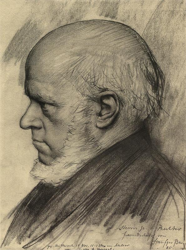艺术大师素描人物