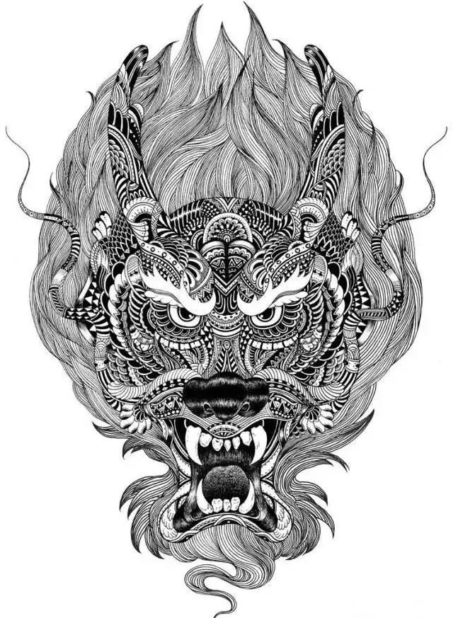 北京设计源|诠释黑白装饰画点线面(二)图片