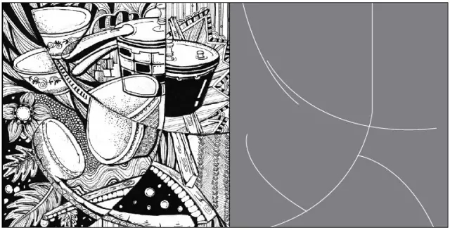 北京设计源 诠释黑白装饰画点线面 二