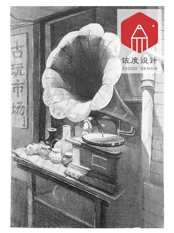 北京佐度�O�培�-�O�素描