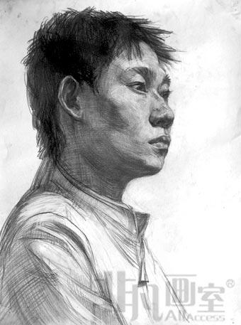 北京非凡��室素描作品