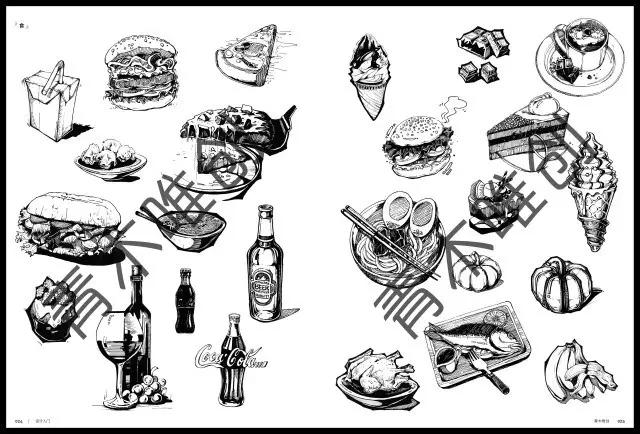 介绍装饰画的概念,了解装饰画的构图和装饰形象素材,明确黑白装饰画