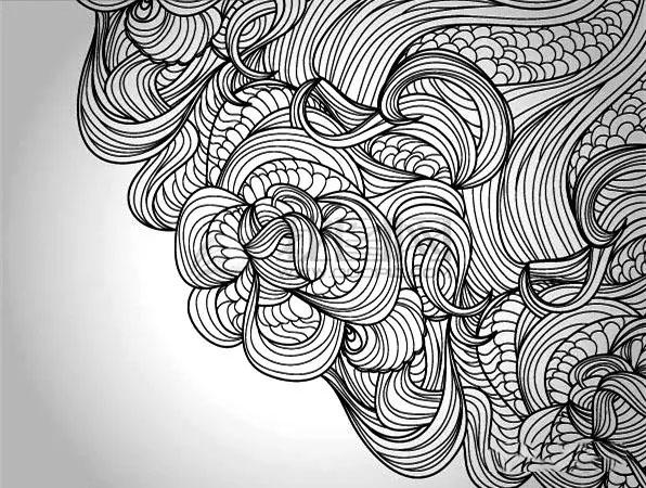 bioworkz黑白动物装饰插画   设计源|诠释黑白装饰画之点线面