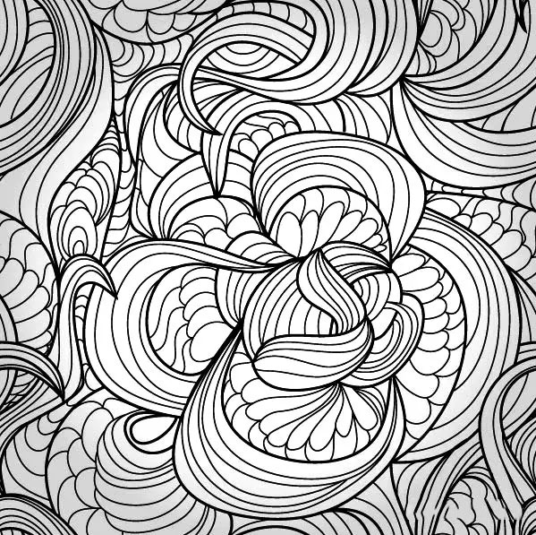 设计源|诠释黑白装饰画之点线面       美术生必备:   《艺考生文化图片