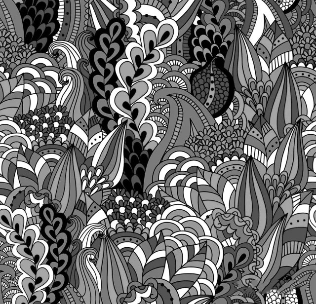 点线面装饰画_【干货】一百种能拿高分的纹样素材(黑白装饰画) - 51美术高考网