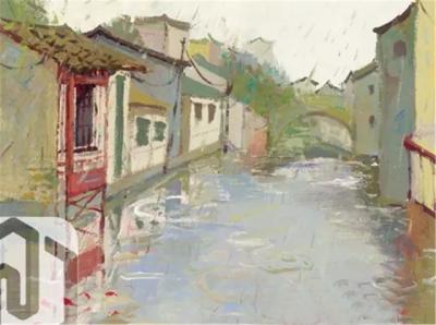 中国美术学院2016年色彩风景高分试卷(一)