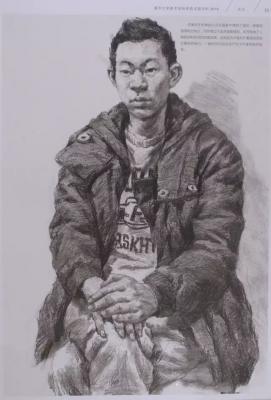 清华大学美术学院2016年素描人物高分卷