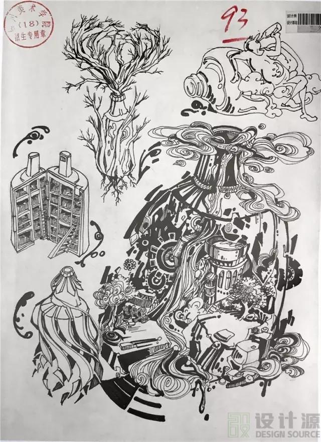 产品设计以及装饰画,江南大学近年都没有对外的高分卷,你可以看看这