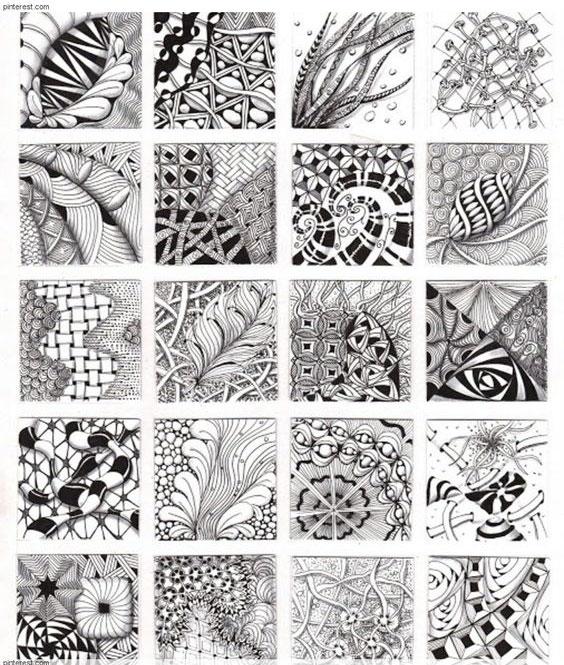 > 正文    在前面画黑白装饰画的时候,会涉及到构图,点线面,装饰肌理