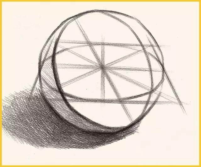 个石膏几何体的结构要点和作画步骤图片