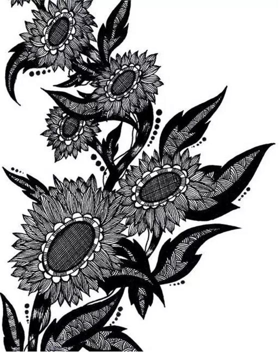 黑白装饰画-北京设计源