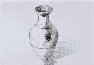 京美考教育 素描罐子的画法解析教程图片