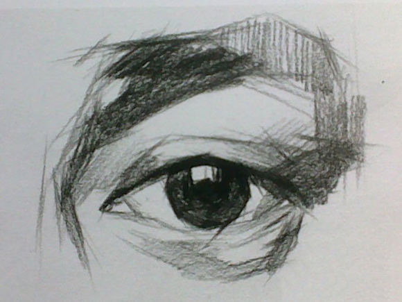 太原唐晋美术学校 素描眼睛结构解析图文步骤
