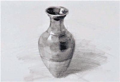 京美考教育:素描罐子的画法解析教程