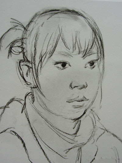 京美考教育:素描头像临摹构图教程
