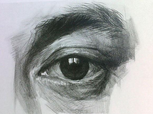京美考画室:素描眼睛结构解析图文步骤