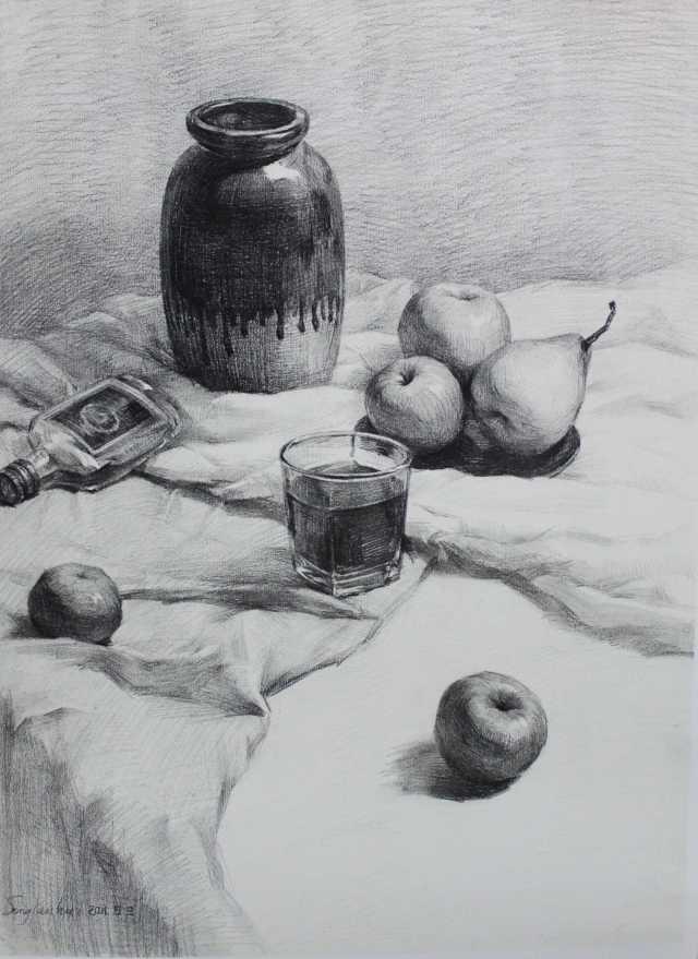 素描静物的学习方法 - 51美术高考网