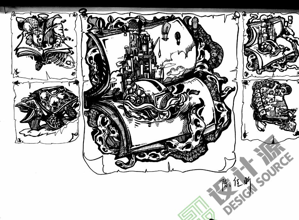首页 美术高考 美考锦囊 > 正文     北京设计源黑白装饰画课程学员