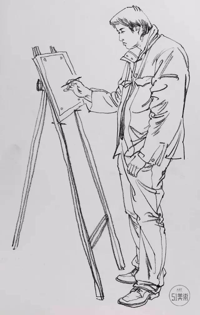 【教程】人物速写怎么画,才能让你画面大放光彩!