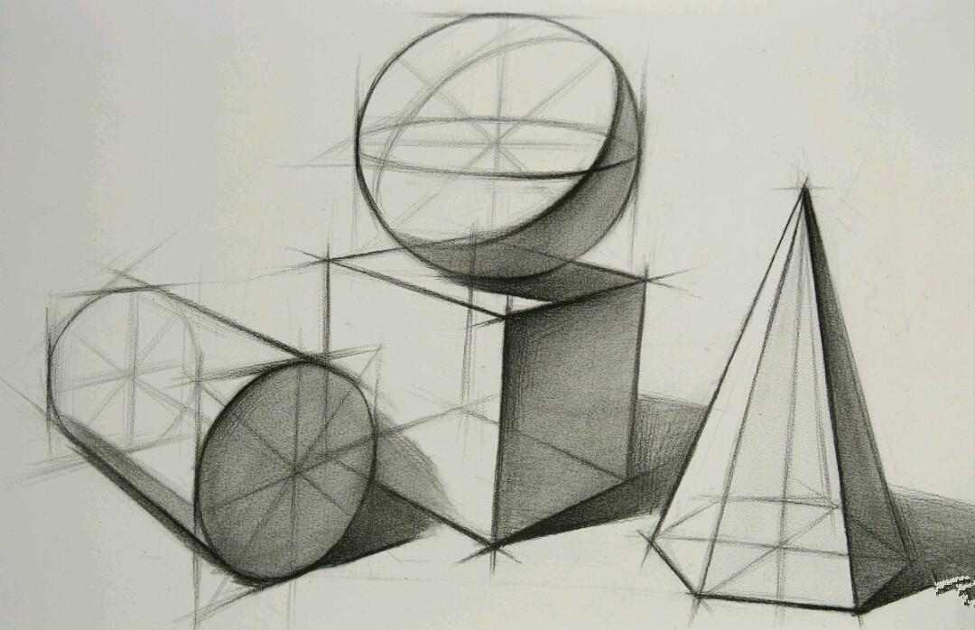 素描几何体常见问题