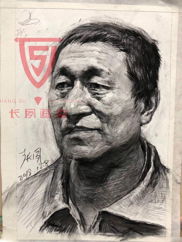 省考联考_2019年黑龙江美术联考素描考题(附范画)-新东方网