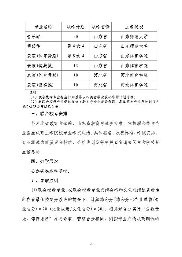 赣南师范大学2020年艺术类专业招生简章